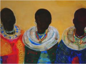 Artwork painting contemporary artist
