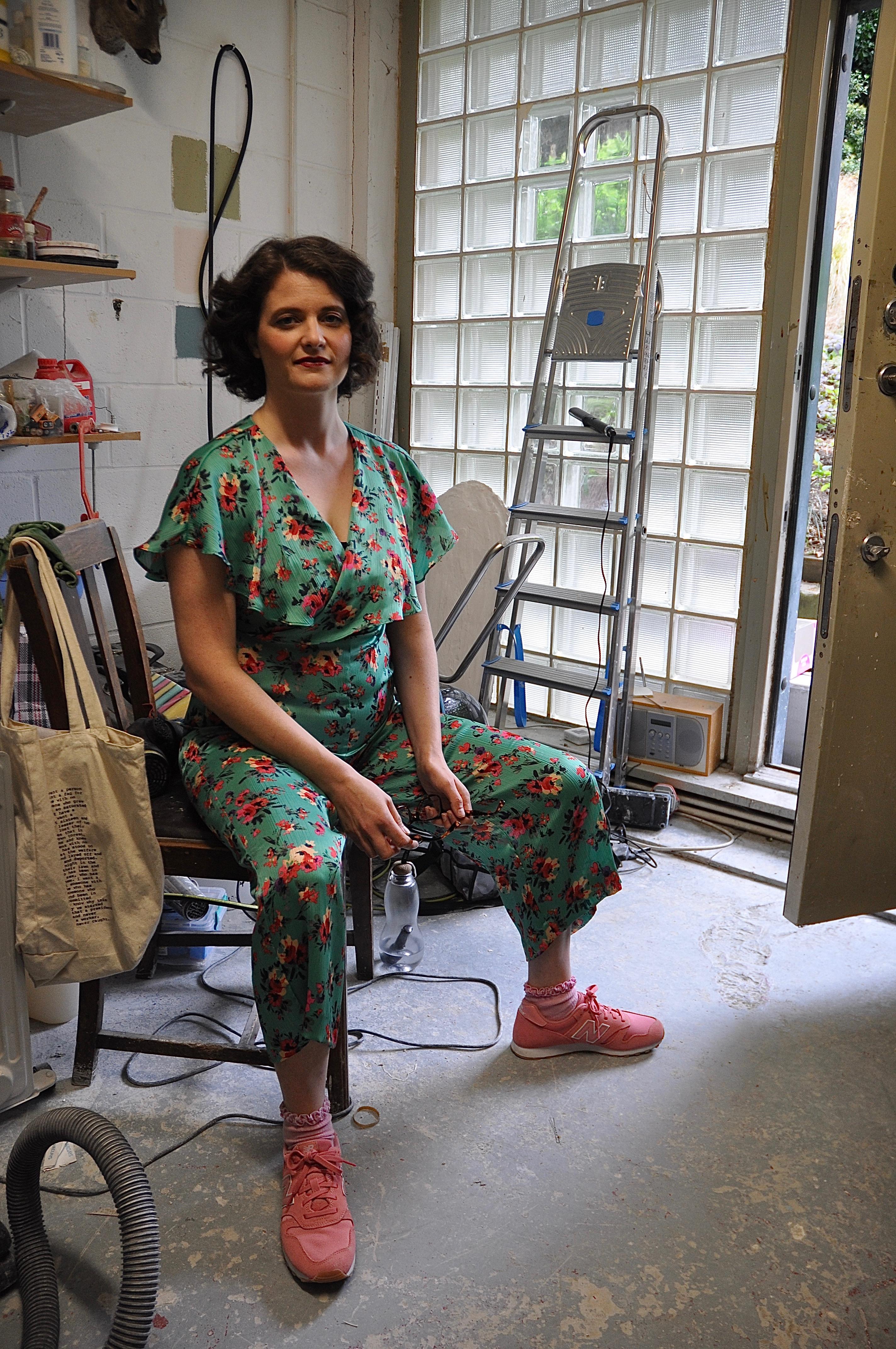 Artist Serena Korda
