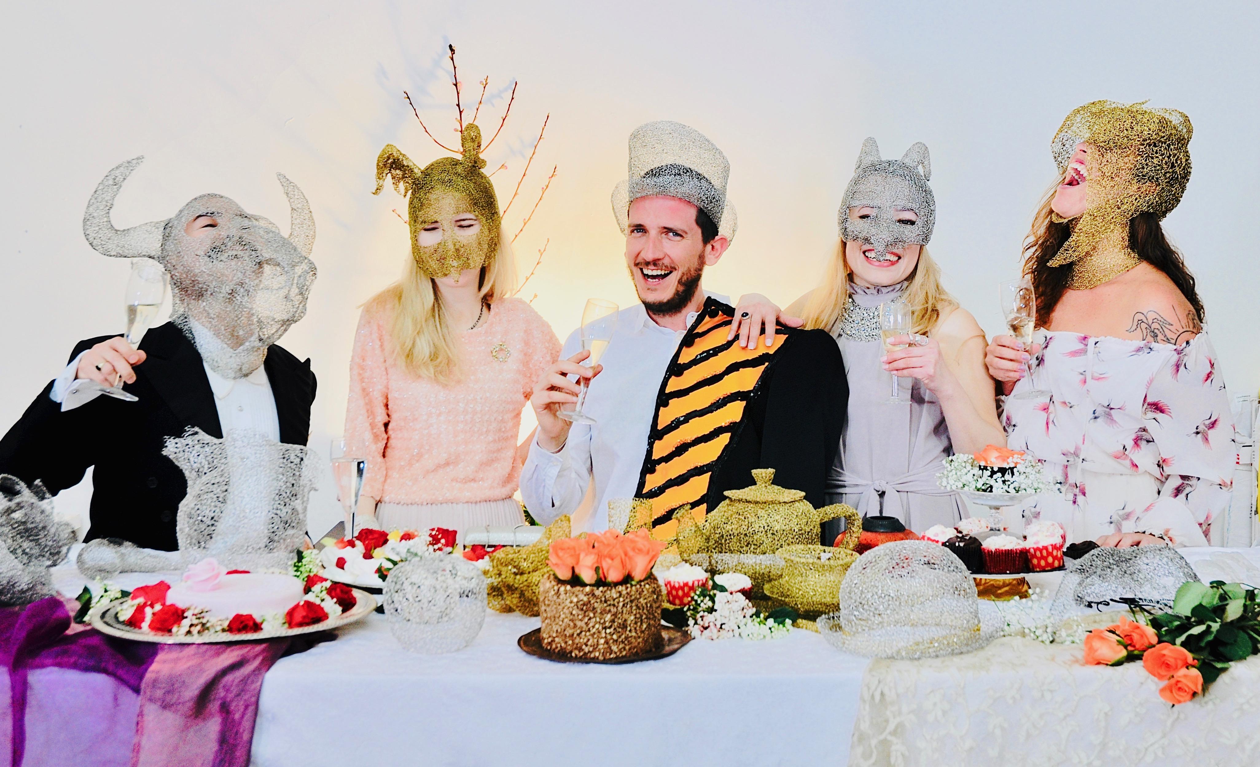 artist art cake party