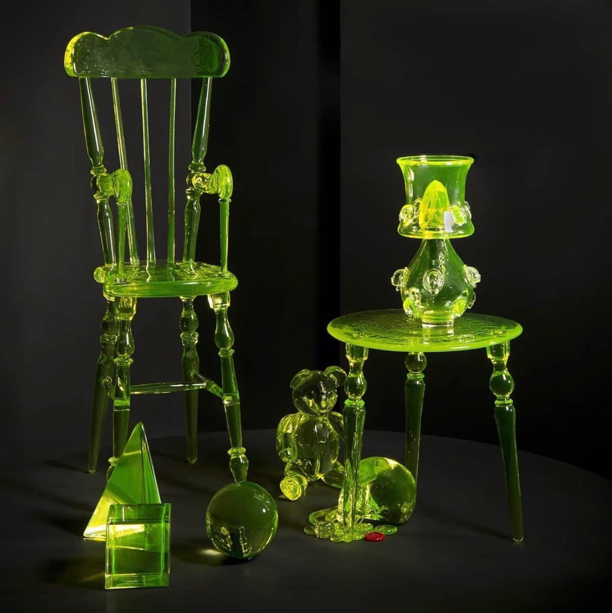 Glass artwork Elliot Walker